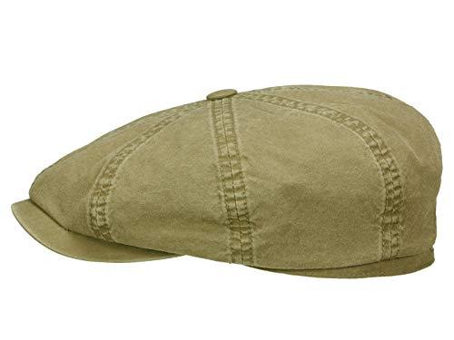 Stetson Hatteras - Gorro de algodón orgánico para hombre - Gorra de...