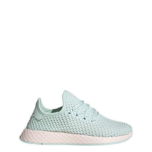 Adidas Juniors DEERUPT Runner J ice Mint/FTWR White Size 6