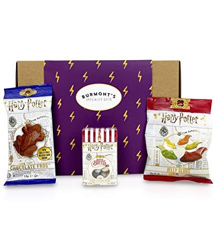Harry Potter Caja De Selección De Dulces Y Chocolates Americanos - Ranas De Chocolate, Jelly Belly Bertie Bott