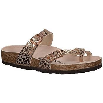 Birkenstock Women s Mayari Sandal Metallic Stones Copper Birko-Flor 38 R EU
