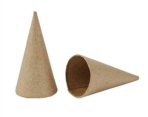 Paper Mache Tree Cones