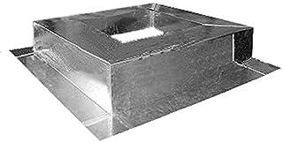 "Base de Lamina para Ventilador, BasePro, MXBSP-305, 45x45"""""""", para Techo a 2 Aguas, Galvanizado, C. 20"