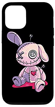 iPhone 12/12 Pro Pastel Goth Creepy Voodoo Doll Cute Aesthetic Doll For Teens Case