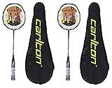 2 x Carlton Nanoblade Pro Badminton Rackets
