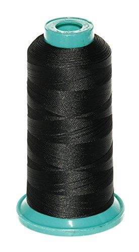 Ms Fenda 1800 Yard Elastic Nylon Sewing Thread for Wig Makers (Black)