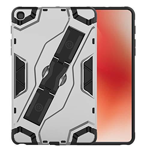 RZL PAD & TAB cases For Samsung Galaxy Tab A 8.0 2019, Armor Case PC Back Cover for Samsung Tab A8 A 8 8A SM-T290 SM-T295 SM-P200 P205 S Pen (Color : Silver, Size : For Tab A 2019 S Pen)