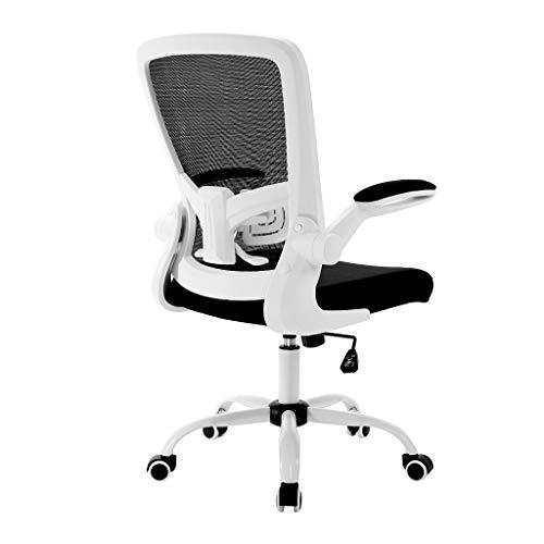 SHANCL Gaming Stuhl Bürostuhl Chefsessel Drehstuhl Gaming-Stuhl Gepolsterte Armlehnen Mit Kippfunktion Nylonrollen