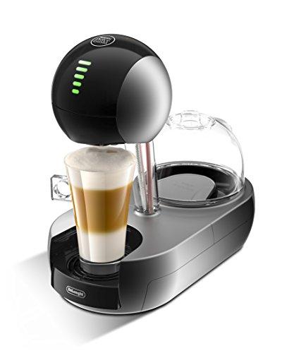 De'Longhi Dolce Gusto Stelia - Cafetera espresso monodosis, interfaz intuitivo, color plateado