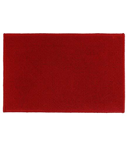 Tapis anti-dérapant (60 cm) Uni Rouge