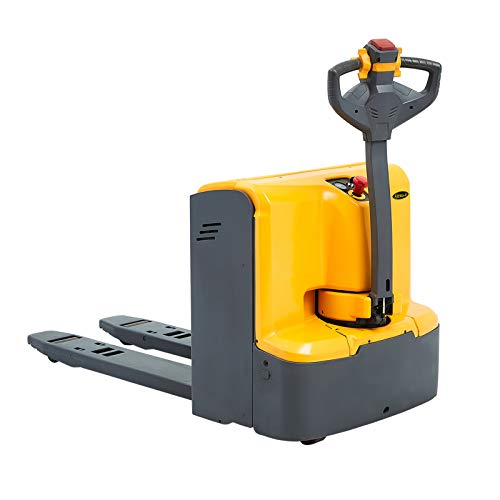 """APOLLOLIFT Electric Powered Walkie Pallet Jack 4400lbs Capacity Pallet Truck 48""""x27"""" Fork Size"""