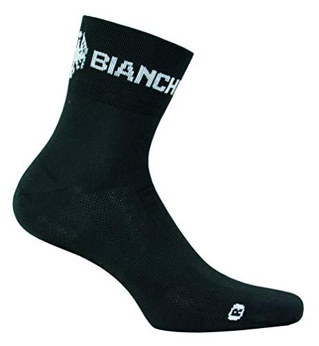 Bianchi Milano - calzini ASFALTO colore nero 4000 taglia XXL 43-47