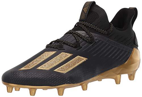 adidas Zapatillas de correr Adizero para hombre, negro (Core negro/dorado Met./Gold Met.), 44 EU
