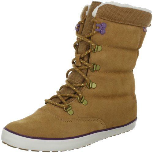 Keds Cream Puff Leather Boot WH45083, Damen Stiefel, Braun (tan), EU 39