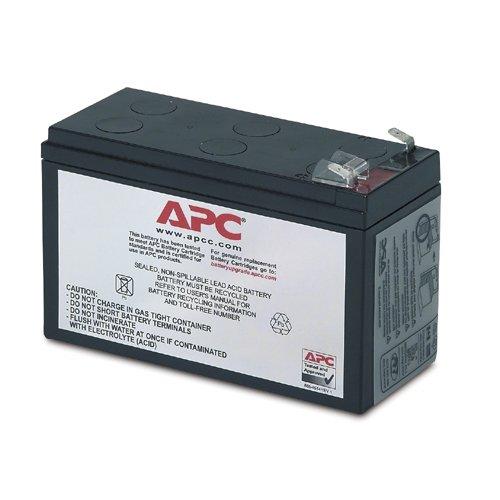 APC Replacement Battery Cartridge # 35–Batterie/wiederaufladbarer Akku (Plombierte Bleisäure (VRLA), Schwarz, 0–40°C, 0–95%, 1kg, 67,1x 134,1X 66mm)