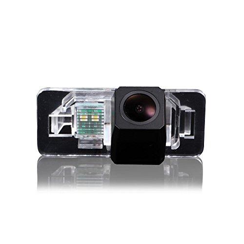 Navinio Farb Rückfahrkamera Einparkhilfe Kamera für Nummerschildbeleuchtung, Kennzeichenbeleuchtung für BMW e46 e39 E90 E60 e53 e70 X1 X3 X5 X6 M3 530i 535li 520i