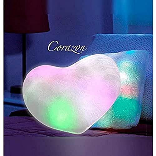 Cojín molón We Houseware BN4258 luz led corazón