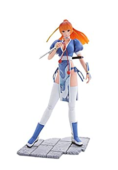 Mon-Sieur Bome Collection Vol.15 Dead or Alive Pre-Painted Figure  Kasumi  Blue Version  by Kaiyodo