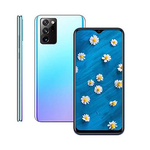(6.53inch IPS Full-Screen), N25 Android Smartphone, 3GWCDMA: 850/2100/MHZ SIM Card Band, 1GB RAM 8GB ROM, Unlocked Cell Phones, 5MP+5MP, 3800mAh, Unlocked Phones (Blue)