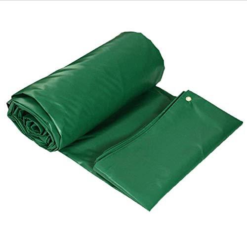 Planen Pavillon Camping Winddicht PVC-doppelseitiges Verdickungs-Regen DREI Planen-Dach-im Freienisolierung MY1MEY (Farbe : Green, größe : 2 * 1.5)