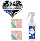3 Stück All-Purpose Rinse-Free Cleaning Spray Cleaner 200ml Fast Safe Rinse-Free Fresh Scent Cleaner Dissolve Stubborn Stains Multi-Purpose Bubble Cleaner Suitable for All Surface Amhomely® (3PC) -