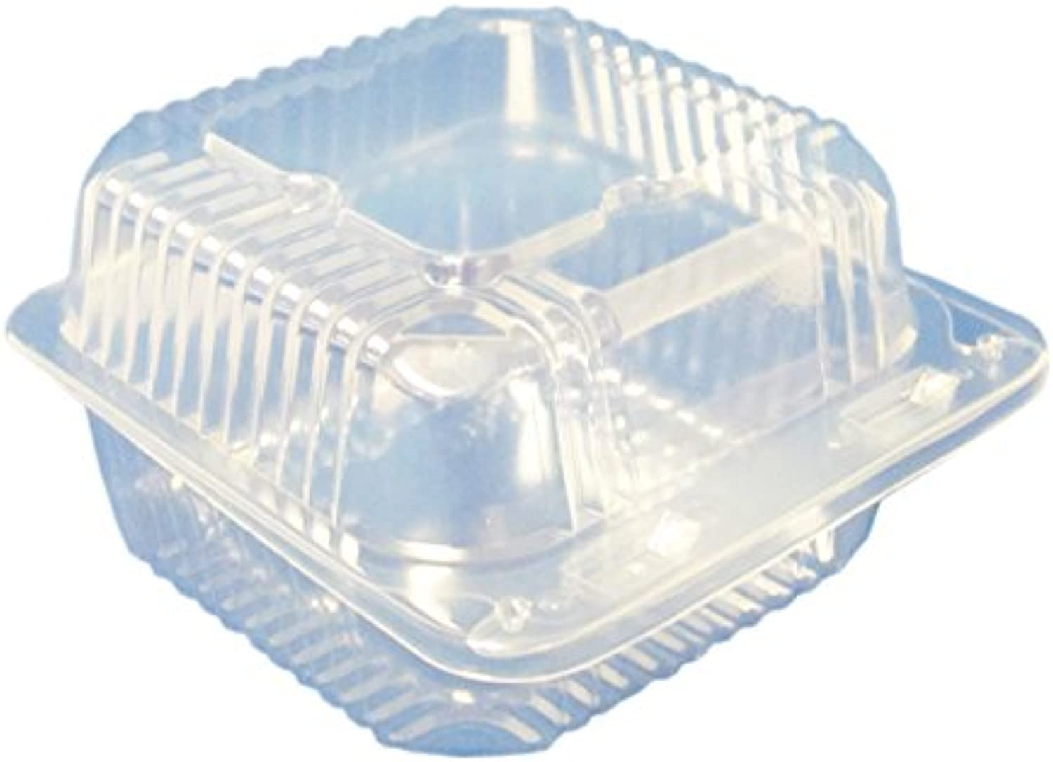 Durable Packaging Square Deep Container, 5  (Pack of 500)