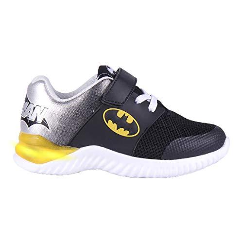 CERDÁ LIFE'S LITTLE MOMENTS Zapatillas Luces para Niños Batman Con Licencia Oficial de DC Comics Leichtathletik-Schuh, bunt, 29 EU