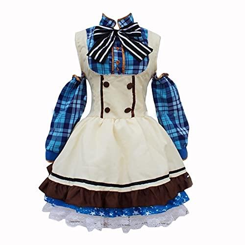 Oppinty Love Live Anime School Idol Project Sonoda Umi Cosplay Sweet Candy Maid disfraces Trajes de vestir
