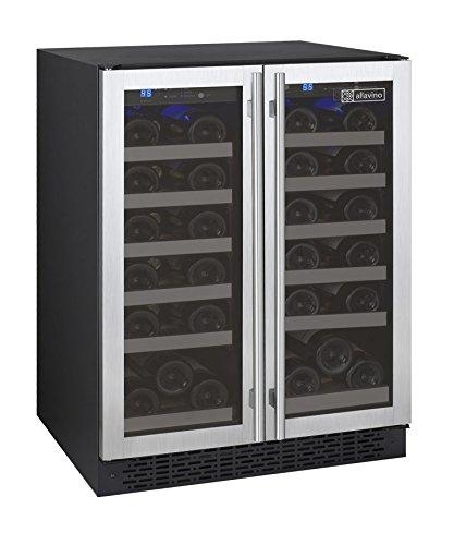 Allavino Wine Refrigerator, 36 Bottle, Stainless Steel