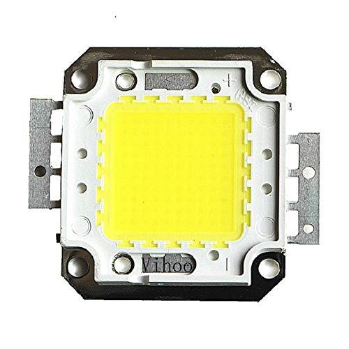 1W 10W 20W 30W 50W 100W Led chip Led integrati Faretto DIY Street Flood Light COB Chip full watt Warm Cool White-bianca_50W