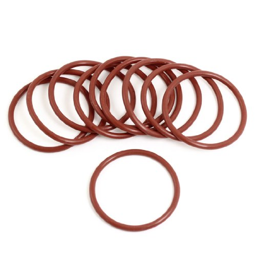 10044mm x 3mm x 38mm Metric Gummidichtung Ölfilter O-Ringe Dichtungen