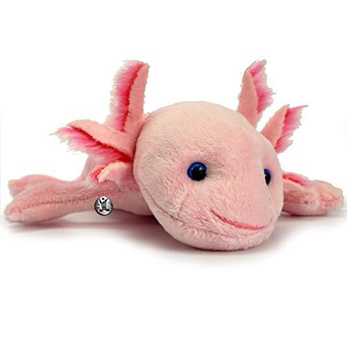 Axolotl PUNKIE Schwanzlurch Amphibie Kuscheltier Plüschtier