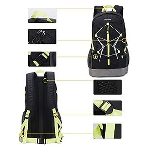 41Fc7vBennL. SS300  - Soarpop Deporte al Aire Libre Mochilas de Montaña Escuela Bolsa para Viaje Acampar Escalada Correr Ciclismo