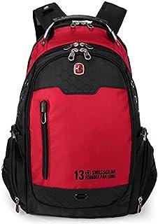 "Swissgear Laptop Bag 15.6"" Waterproof Backpack, Red"