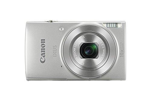 """Canon IXUS 190 Fotocamera Digitale Compatta, 20 MP, 1/2.3"""", CCD, 5152 x 3864 Pixel, Argento"""