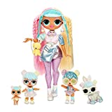 L.O.L. Surprise! O.M.G. Candylicious Family Bundle with OMG Doll, 2 Tots, Pet and Lil Sister with 45+ Surprises - Amazon Exclusive