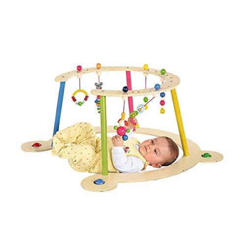 Hess Baby Spiel- und Lauflerngerät / Spielbogen aus Holz / Lauflernwagen ab 6 Monate / Höhe: 32 cm