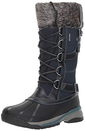 Jambu Women's Wisconsin Waterproof Snow Boot, Midnight, 8 M US