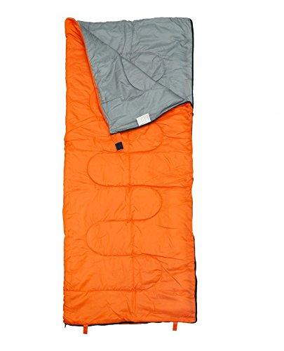 IRIS Sleeping Bag Envelop 3 Season Ultra Light Portable Waterproof Comfort for Camping, Backpack & Outdoor