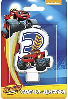 Blaze and Monster Machines Cake Cupcake Topper 3 Years Must Have Accessories for the Party Supplies and Birthday