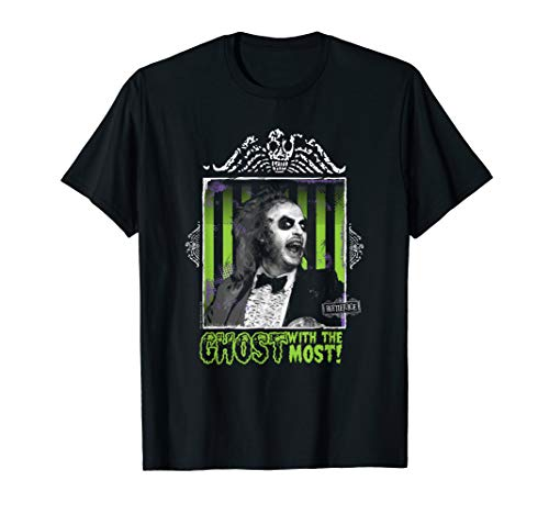 Beetlejuice Ghost With The Most T-Shirt, 3 Colors for Men, Women