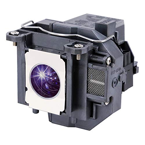 YOSUN Lámpara de proyector para Epson ELPLP57 V13H010L57 eb-440w eb-450w eb-450we eb-450wi eb-455w eb-455wi eb-460 eb-460e eb-460i eb-465i h318a h343a Lámpara de proyector para
