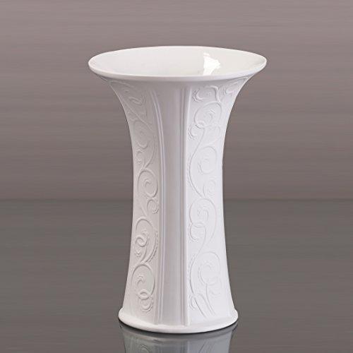 Kaiser Porzellan Vase Girlande biskuit Blumenvase Dekoartikel Blumengefäß NEU OVP 25,00 cm
