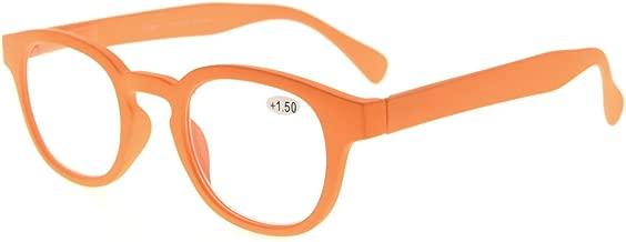 Eyekepper UV Protection Womens Reading Glasses with Anti Reflective Coating (Orange, 0.00)