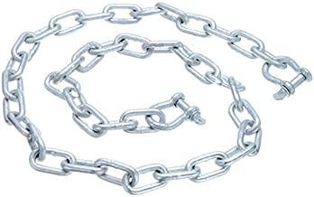 "Seachoice 44121 Galvanized ¼"" x 4 Anchor Lead Chain with (2) 5/16"