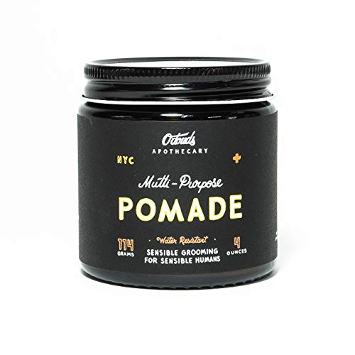 O'Douds All Natural Multi-Purpose Pomade - Premium Styling Pomade for Men - Firm Hold with Medium to High Shine - Cedar Citrus Scent (4oz)