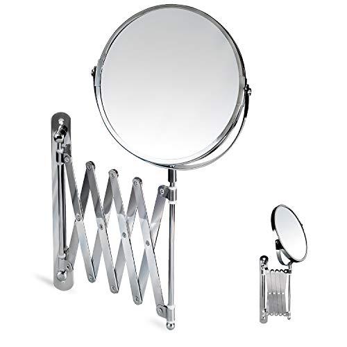 Tatkraft Spiegel, Chrom, Silber, 22.8 x 19.6 x 6.6 cm