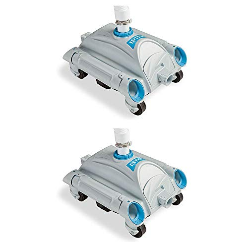Great Deal! Intex Automatic Above Ground Pool Vacuum for Pumps 1,600-3,500 GPH (2 Pack)