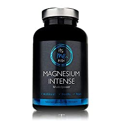 itsme.now® Magnesium Intense - Premium Magnesium Capsules 600mg elemental magnesium per daily dose I high-dose magnesium oxide vegan without additives I Magnesium made in Germany 180 pieces
