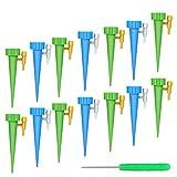 FYLINA Bewässerungssystem 15 Stück Automatisch Bewässerung Set Instellbar Einfaches Zum Gießen von Gartenpflanzen Blumen...