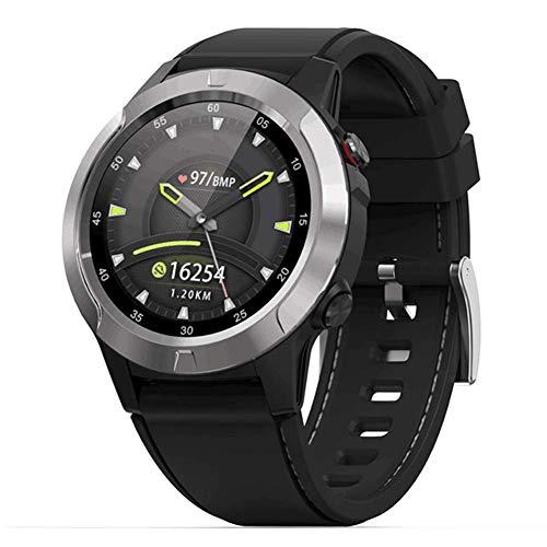 WRJY Deportes al Aire Libre Reloj Inteligente Pantalla táctil Bluetooth Reloj Impermeable GPS Latitud Presión Frecuencia cardíaca Medidor de calorías Monitoreo del sueño Brújula Reloj m